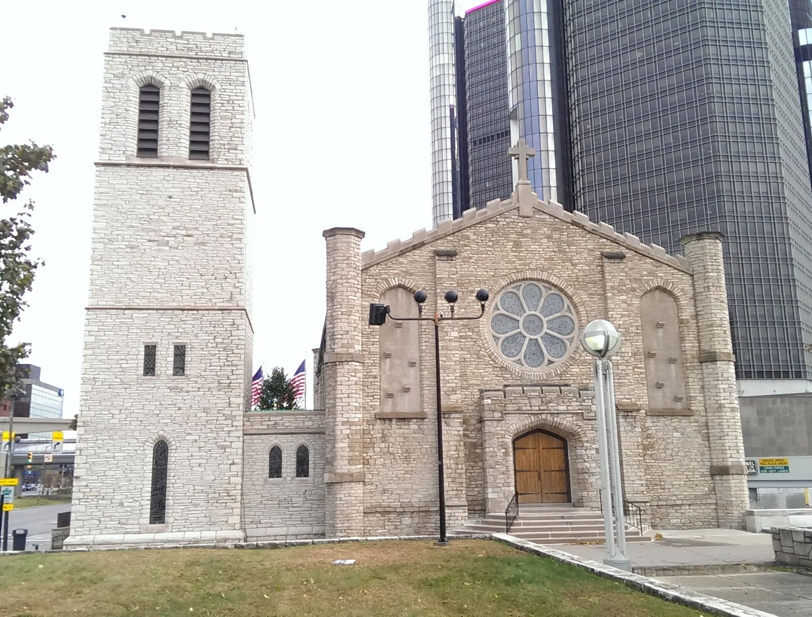 Photo of The Old Mariners' Church, in Detroit, Michigan
