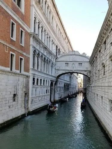 Photo of The Bridge of Sighs in Venice, Italy