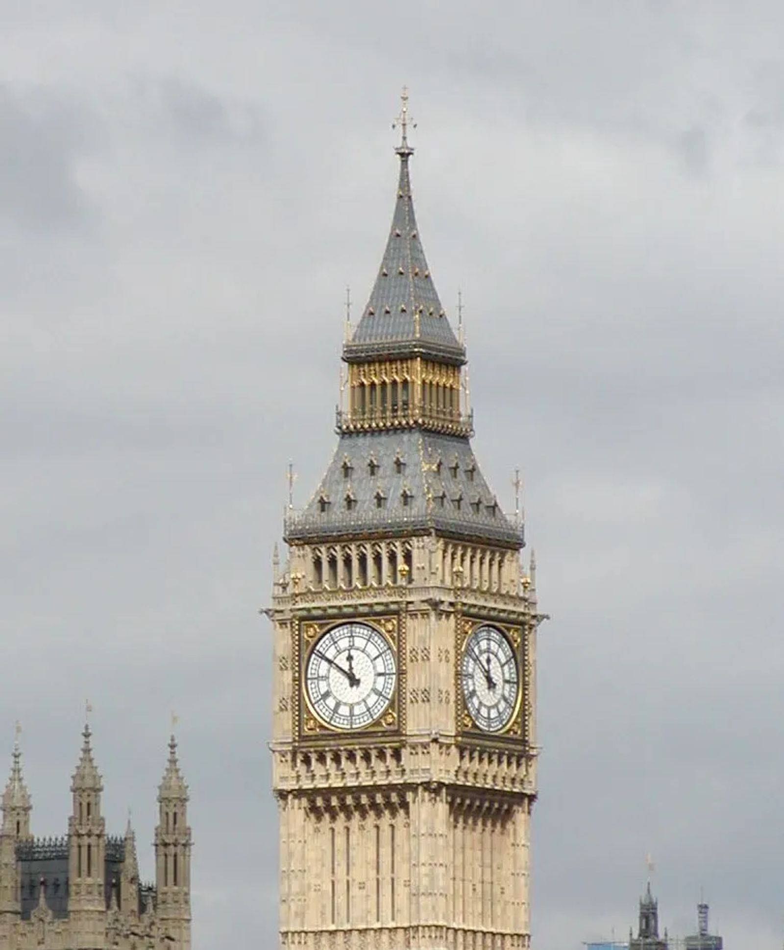 Photo of the Big Ben clock tower in London, England