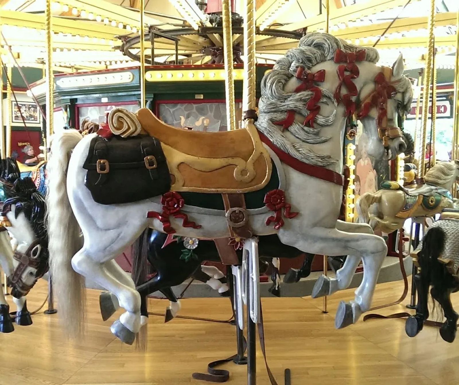 Photo of Carousel horse named Zonta in Missoula, MT