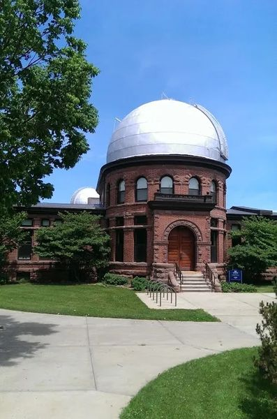 Photo of The Goodsell Observatory, at Carleton College in Northfield, Minnesota