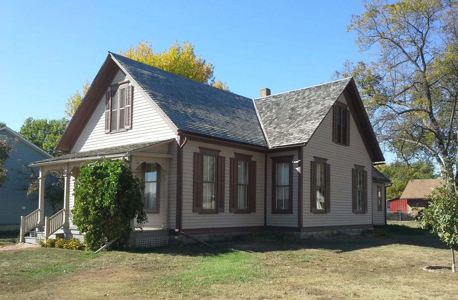 Photo of Willa Cather Home in Red Cloud, Nebraska