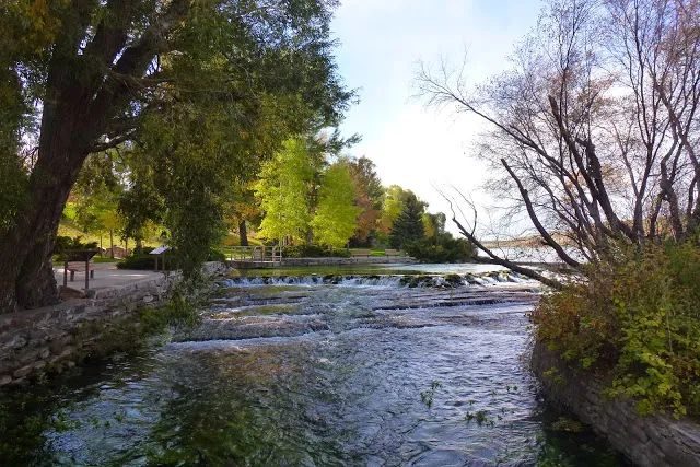 Photo of the Roe River, in Great Falls, Montana