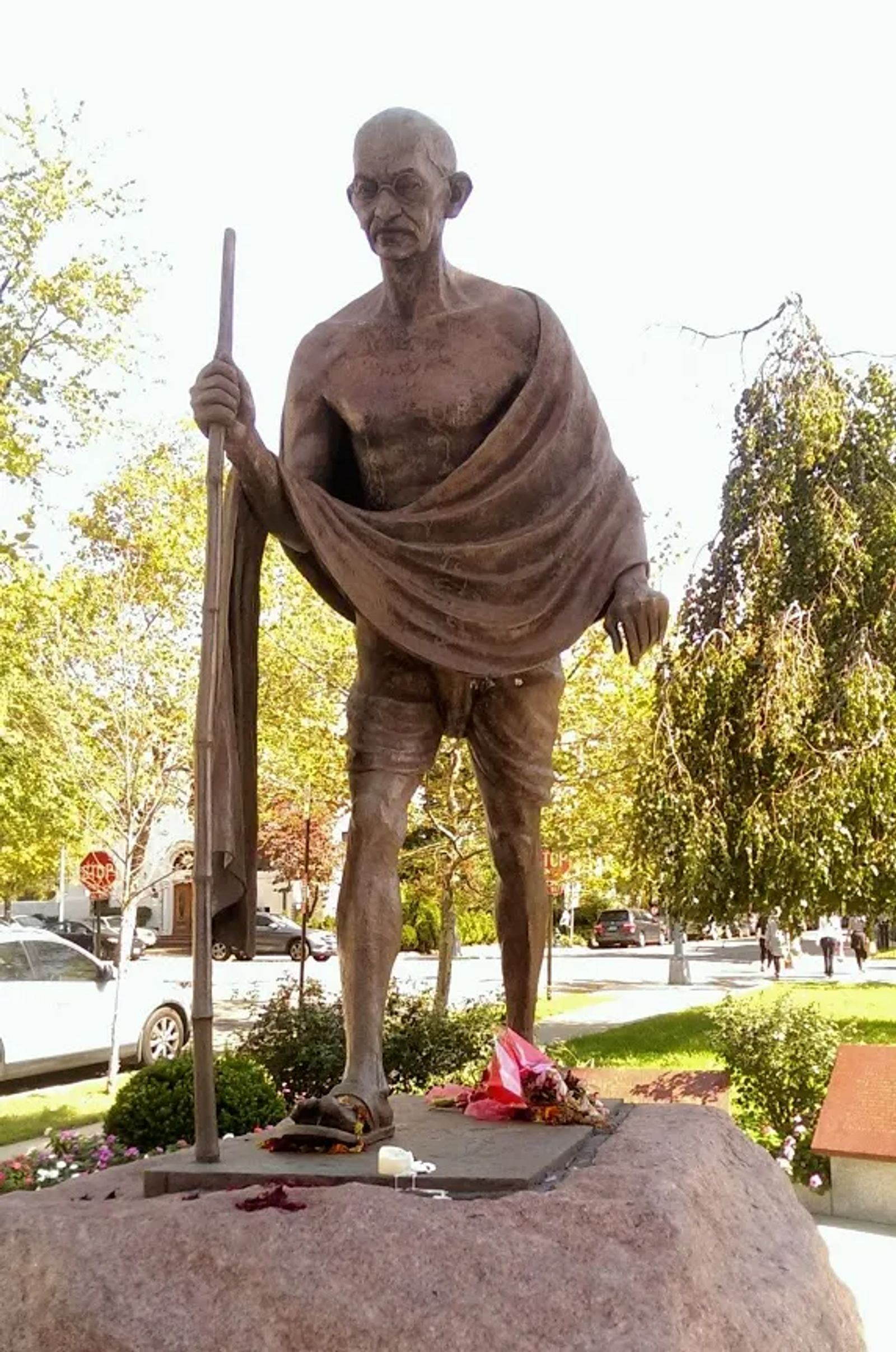 Photo of Statue of Mahatma Gandhi in Washington, DC